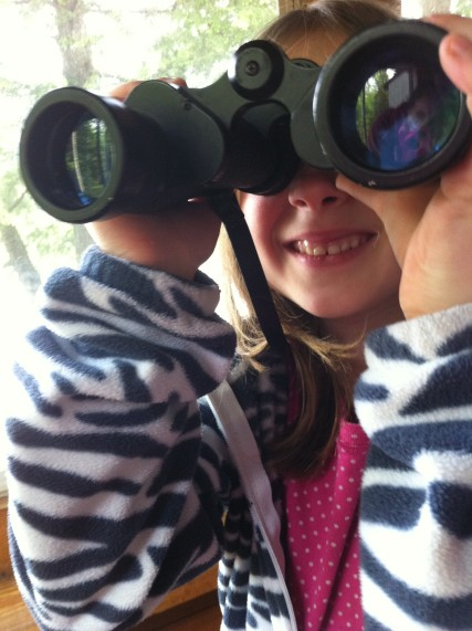 Lakeside Binocular fun